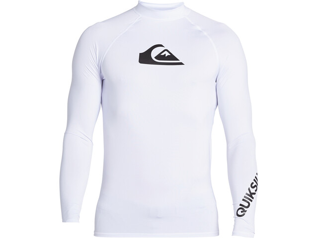 Quiksilver All Time LS Shirt Men, white